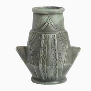 Vintage Spanish Ceramic Vase from Ceramica Gerunda