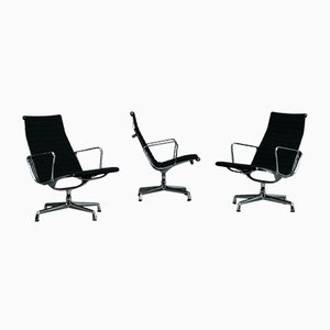 Chaise Modèle Ea 116 en Aluminium par Charles & Ray Eames pour Vitra
