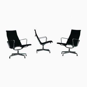 Modell Ea 116 Aluminium Stuhl von Charles & Ray Eames für Vitra