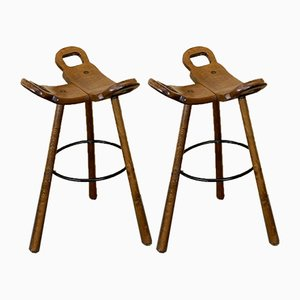 Bar Stool in the style of Carl Malmsten, Sweden, 1950s