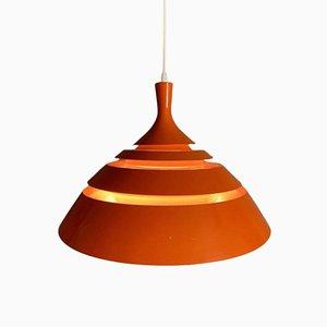 Schwedische Deckenlampe von Hans-Agne Jakobsson, 1960er