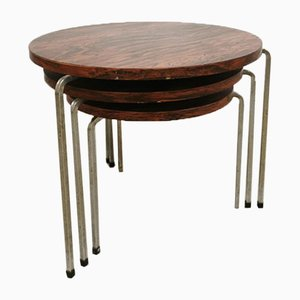 Vintage Round Nesting Tables