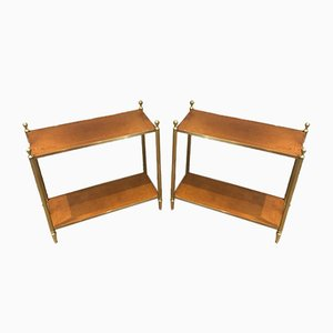 Side Tables in the style of Maison Jansen, Set of 2