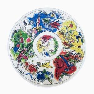 Marc Chagall, The Dome of the Opera Garnier, 1963