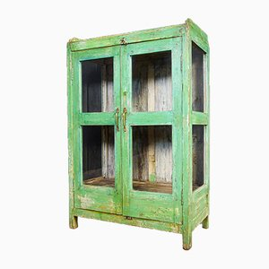 Wabi Sabi Display Cabinet in Green