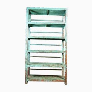 Wabi Sabi Shelf Cabinet in Turquoise