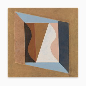Cross Flow II, Abstraktes Gemälde, 2018
