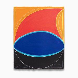 Onda gravitacional, Pintura abstracta, 2016