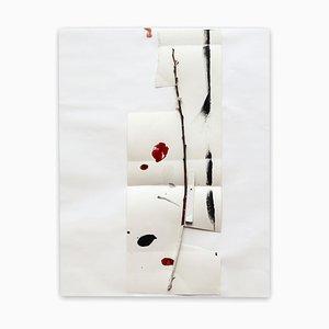 K2003, Oeuvre Abstraite sur Papier, 2020