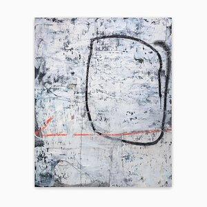 Ich würde wirklich gerne Menschen sehen, abstrakte Malerei, 2020