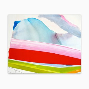 Schaukasten, Abstraktes Gemälde des Expressionismus, 2011