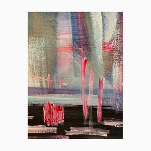 Trying Missing, Abstraktes Gemälde, 2020