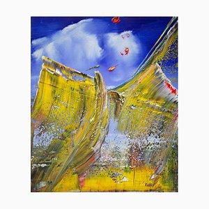 Amerikanisches Gemälde von Harry James Moody, Abstract N ° 541, 2021