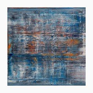 Amerikanisches Gemälde von Harry James Moody, Abstract N ° 392 2018