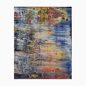 Amerikanisches Gemälde von Harry James Moody, Abstract N ° 427, 2019