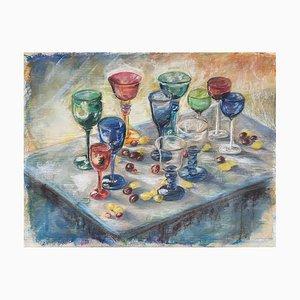 Martine Bardel, Les verres, 1990