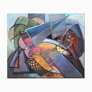 Gilberte Schmit, Composition Cubiste, 1970