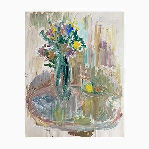 Raya Safir, Bouquet de fleurs et Coupe de Fruits, 1970