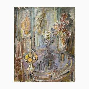 Raya Safir, Nature morte au Bouquet et aux Obsts, 1970