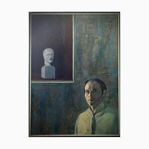 Foued Zaouche, Portrait au buste, 1981