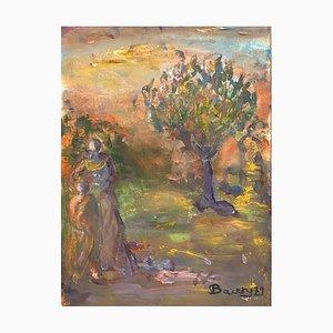 Henriette Baréty, Une visite à l'arbre, 1979