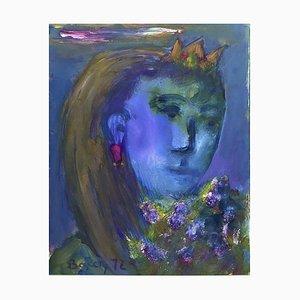 Henriette Barety, Portrait de la Reine, 1973