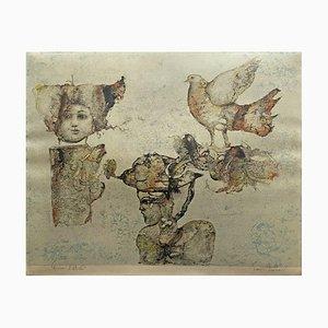 Sakti Burman, Le Pigeon, 1980