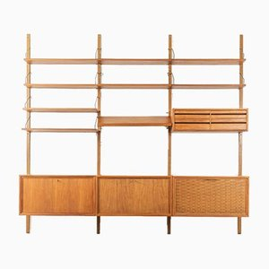 Wall Shelving System by Poul Cadovius, 1960s