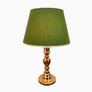 Decorated Cast Lamp
