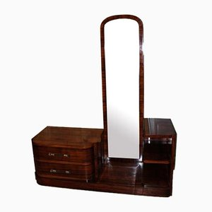 Art Deco Dressing Table in Rosewood
