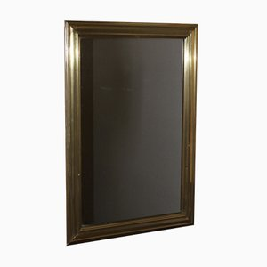 Embossed Brass Bistro Mirror