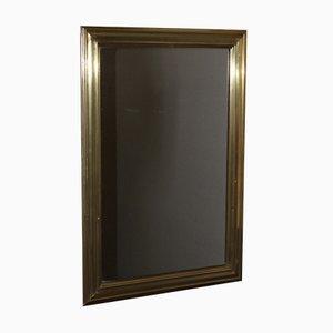 Miroir de Bistro en Laiton Embossé