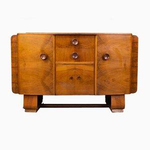Art Deco Walnut Talent Series Sideboard from F H Marshall, Scotland, 1940s