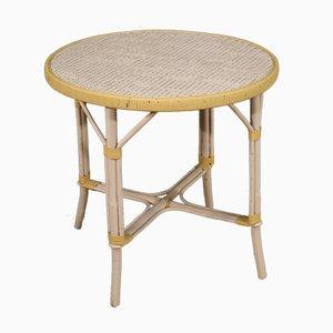 Italian Wicker Coffee Table