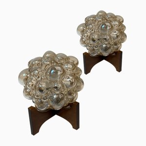 Bubble Lamps by Helena Tynell, Set of 2