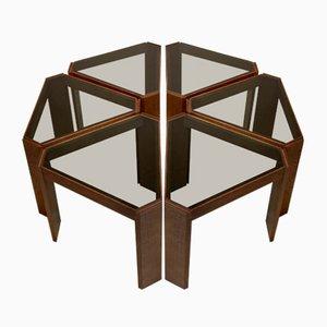 Tavolini da caffè o mensole modulari, set di 6