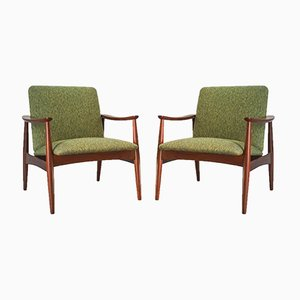 Model 62 Armchairs by José Espinho for Olaio, 1962, Set of 2