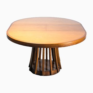 Vintage Extendable Dining Table by Angelo Mangiarotti, 1970s