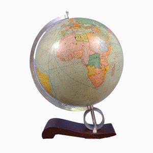 Globe with Internal Lighting from Flemmings Verlag, 1940s