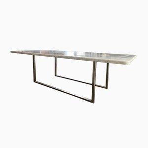Table in Carrara Marble, 1970s