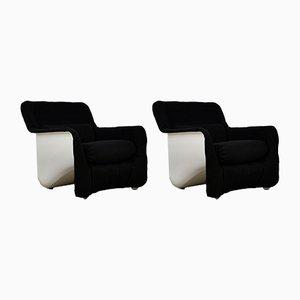 Bicia Chairs by Carlo Bartoli for Arflex, 1969, Set of 2