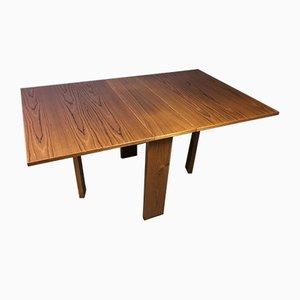 Table de Salle à Manger à Abattant Mid-Century de Trioh, Danemark