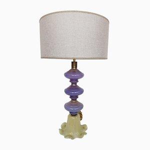 Lampe aus Murano Glas von Seguso