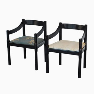 Carimate Chairs by Vico Magistretti for Cassina, 1970s, Set of 2