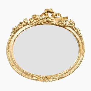 Classicist Gold Framed Mirror, 1880