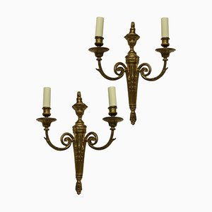 Antique Louis XVI Style Sconces, Set of 2