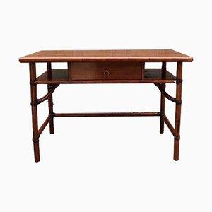 Bambus Schreibtisch mit Rechter Ablage von McGuire