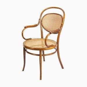 Art Nouveau Bentwood Armchair from Thonet, 1900s