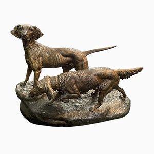 Statue des Jagdhundes von Masson