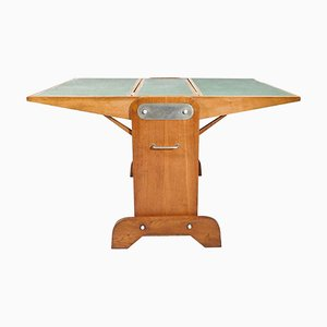 Multifunctional Vintage Folding Table